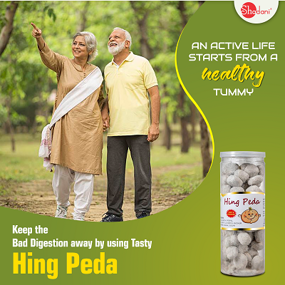 Digestive Hing Peda Candy- Shadani Group