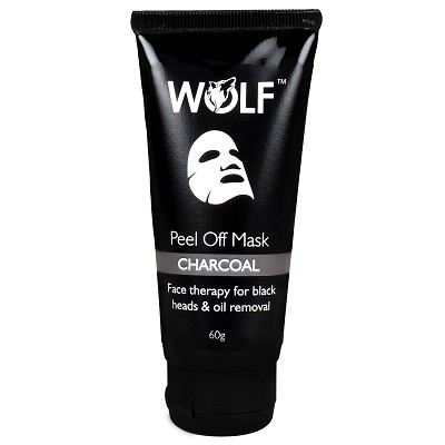 Charcoal Peel Off Mask For Black Heads and Oil Removal