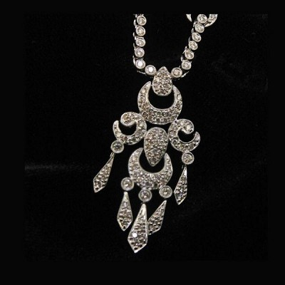 Gift Victorian Diamond Necklace To Your Princes