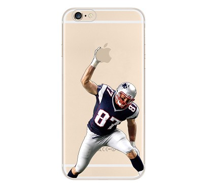 ''Gronk Spike'' Clear Football iPhone Case