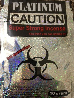 Caution Platinum 10G Herbal Incense
