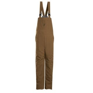 Coveralls Wholesale - Brown Duck Insulated Bib Overall
