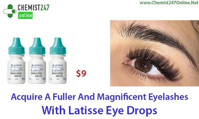 Use Latisse Eye Drops For Treating Hypotrichosis