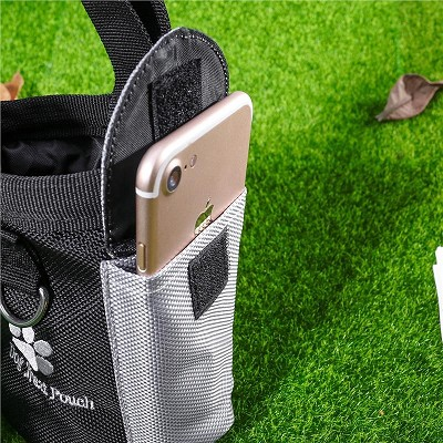 Hands Free Dog Training Pouch Training, hiking, Walking Includes Waste Bag Dispenser