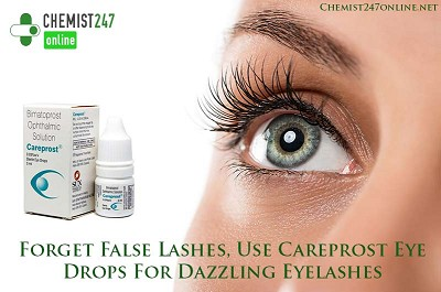 Forget False Lashes, Use Careprost Eye Drops For Dazzling Eyelashes