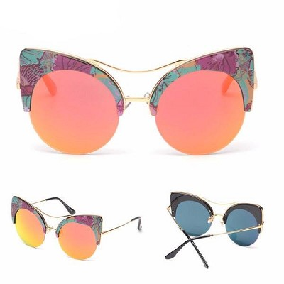 Cute and Large Cat Eye Sunglasses Now at Crazycatshop with 70% Off and Free Shipping