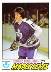 Buy Now 1977-78 O-Pee-Chee #266 George Ferguson Card From Beckett.com