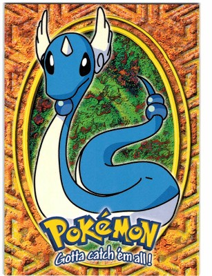 Shop Now 1999 Pokemon Movie Animation Edition Black #e11 #148 Dragonair - Stage 2 card from Beckett.com