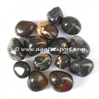 AGATE EYE TUMBLED STONES