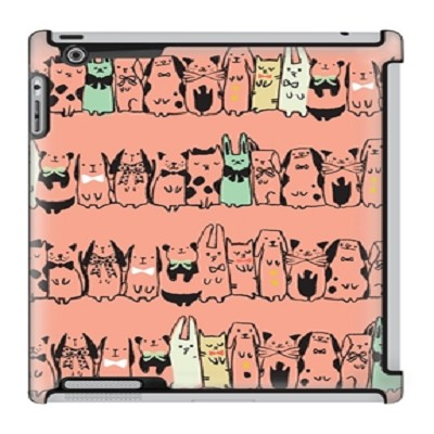 Uncommon LLC Sarah Watts Harajuku Deflector Hard Case for iPad 2/3/4 (C0050-QG)