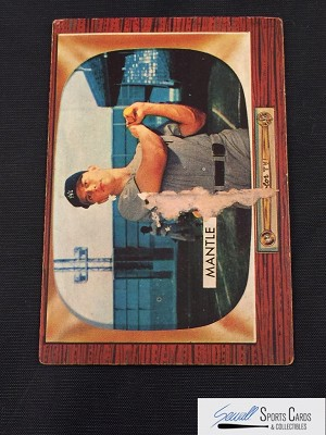 Checkout Now 1955 Bowman #202 Mickey Mantle UER Card From Beckett.com